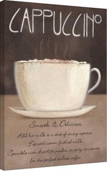 Canvas-taulu Mandy Pritty - Cappuccino