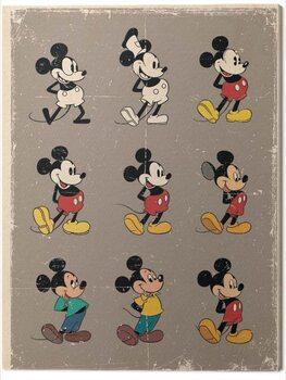 Canvas-taulu Mickey Mouse Evolution - Retro