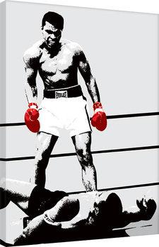 Canvas-taulu Muhammad Ali - Gloves - Corbis