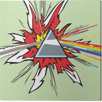 Canvas-taulu Pink Floyd - Dark Side of the Moon Pop Art