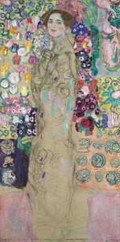 Portrait of Ria Munk III, unfinished, 1917-18 Canvas-taulu