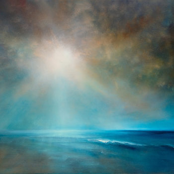 Canvas-taulu Power and silence II