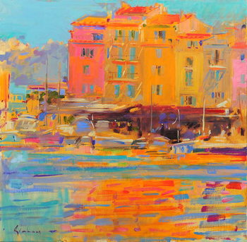 Canvas-taulu Saint-Tropez Reflections