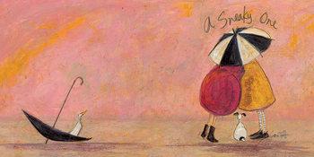 Canvas-taulu Sam Toft - A Sneaky One II