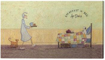 Canvas-taulu Sam Toft - Breakfast in bed for Doris