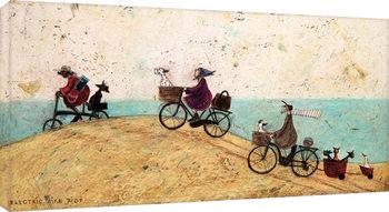 Sam Toft - Electric Bike Ride Canvas-taulu