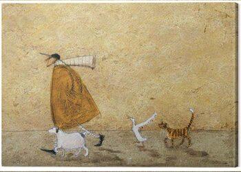 Canvas-taulu Sam Toft - Ernest, Doris, Horace and Stripes