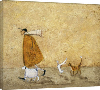 Canvas-taulu Sam Toft - Ernest, Doris, Horace And Stripes