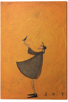 Sam Toft - Joy Canvas-taulu