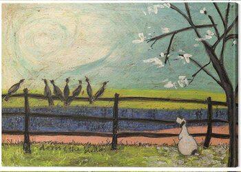 Canvas-taulu Sam Toft - Sam Toft - Doris and the Birdies