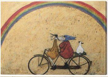 Canvas-taulu Sam Toft - Somewhere Under a Rainbow