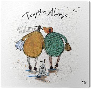 Canvas-taulu Sam Toft - Together Always