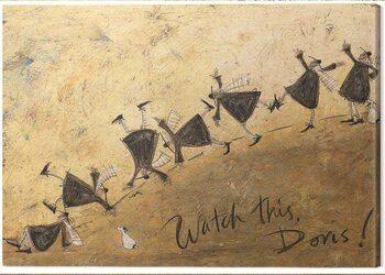Canvas-taulu Sam Toft - Watch This, Doris!
