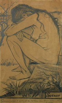 Sorrow, 1882 Canvas-taulu