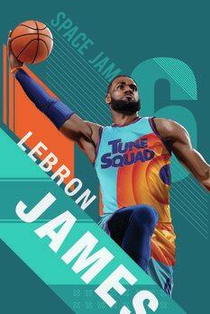 Canvas-taulu Space Jam 2 - Star LeBron