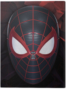 Canvas-taulu Spider-Man Miles Morales - The Mask of a Hero