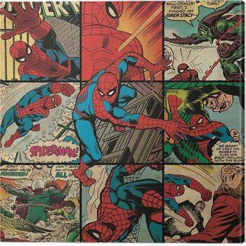 Canvas-taulu Spider-Man - Squares