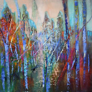 Springtime in the avenue II Canvas-taulu