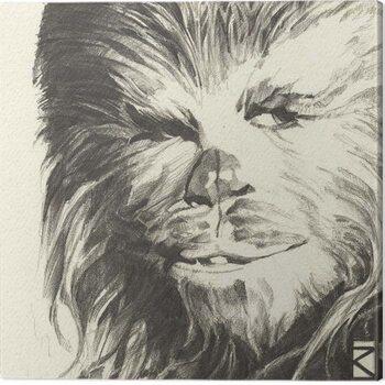Canvas-taulu Star Wars - Chewbacca