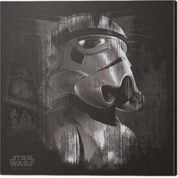 Canvas-taulu Star Wars: Rogue One - Stormtrooper Trooper Black