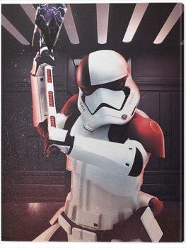 Canvas-taulu Star Wars The Last Jedi - Executioner Trooper