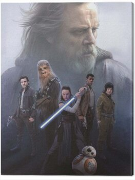 Canvas-taulu Star Wars The Last Jedi - Hope