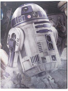 Canvas-taulu Star Wars The Last Jedi - R2 - D2 Droid