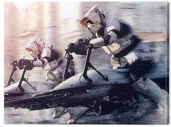 Canvas-taulu Star Wars: The Mandalorian - Troopers