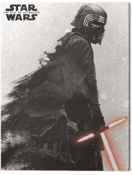 Canvas-taulu Star Wars: The Rise of Skywalker - Kylo Ren And Vader