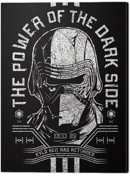 Canvas-taulu Star Wars: The Rise of Skywalker - Kylo Ren Has Returned
