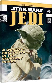 Star Wars - Yoda Comic Cover Canvas-taulu