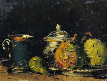 Canvas-taulu Still Life, c.1865