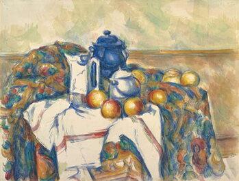 Canvas-taulu Still Life with Blue Pot