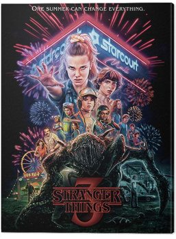 Canvas-taulu Stranger Things - Summer of 85