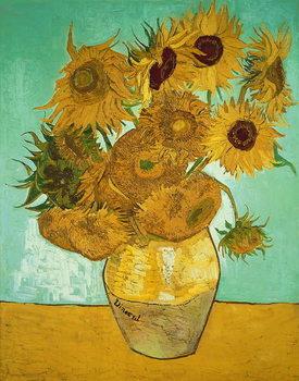 Canvas-taulu Sunflowers, 1888