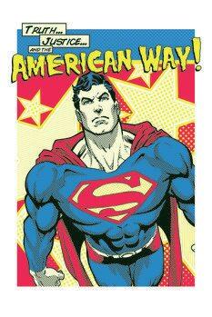 Canvas-taulu Superman - American Way