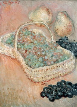 The Basket of Grapes, 1884 Canvas-taulu