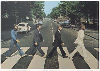 Canvas-taulu The Beatles - Abbey Road