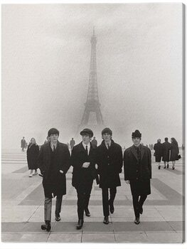 Canvas-taulu The Beatles - Paris
