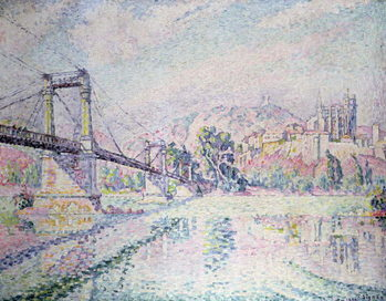 Canvas-taulu The Bridge, 1928