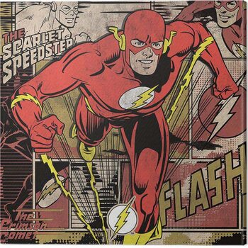 Canvas-taulu The Flash - Burst