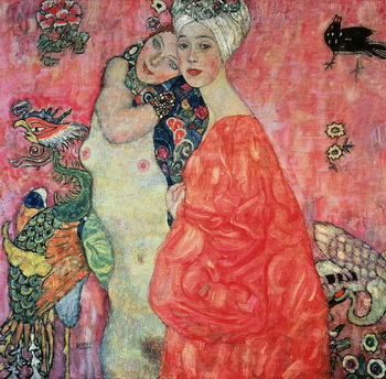 Canvas-taulu The Girlfriends, 1916-17