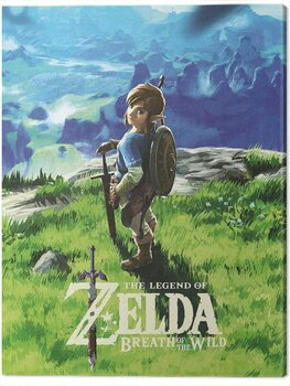 Canvas-taulu The Legend of Zelda: Breath of The Wild - View
