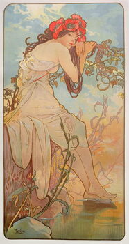 Canvas-taulu The Seasons: Summer