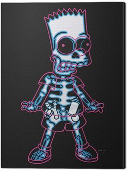 Canvas-taulu The Simpsons - X-Ray Bart