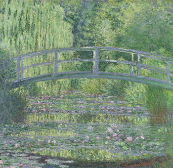 The Waterlily Pond: Green Harmony, 1899 Canvas-taulu