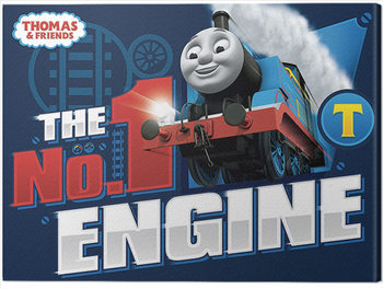 Canvas-taulu Thomas & Friends - The Number One Engine