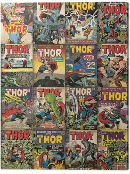 Canvas-taulu Thor - Covers