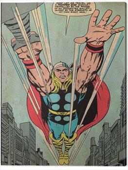 Canvas-taulu Thor - Thundergod