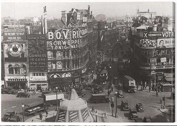 Canvas-taulu Time Life - Piccadilly Circus, London 1942